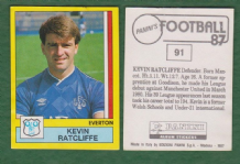 Everton Kevin Ratclife Wales 91